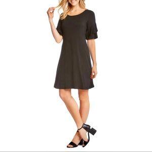 Karen Kane Dress pullover w/ruffle sleeves💥NWT